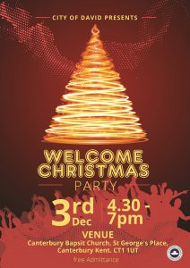 Christmas Welcome Party 2016