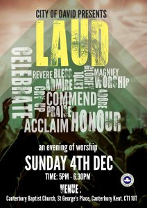LAUD – An evening of worship 2016