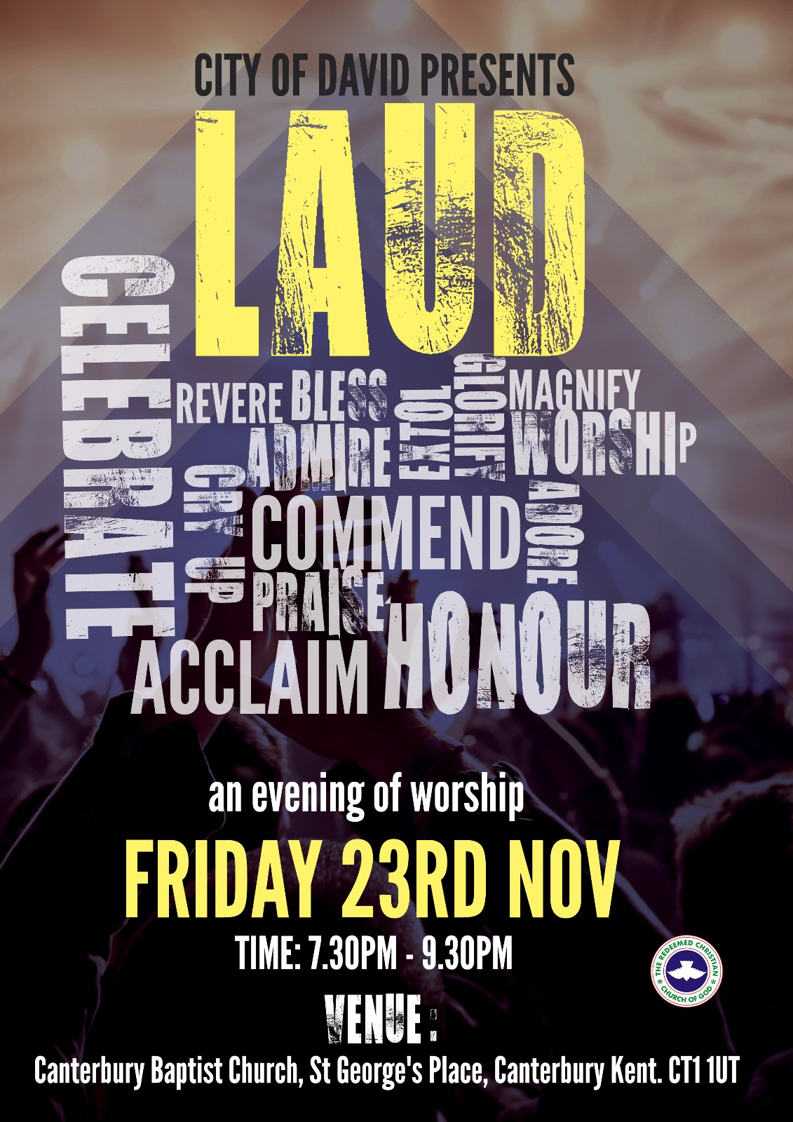 LAUD – An evening of worship 2018